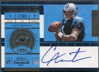 2011 Playoff Contenders #228 Cam Newton Rookie Auto
