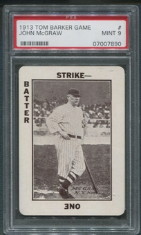 1913 Tom Barker Game WG6 #29 John McGraw PSA 9 (MINT) *7890