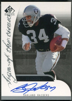 2005 SP Authentic #SOTBO Bo Jackson Sign of the Times Auto