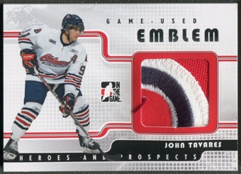 2008/09 ITG Heroes and Prospects #GUE26 John Tavares Emblems Patch #9/9