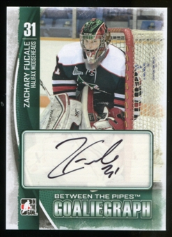 2013-14 In the Game Between the Pipes Autographs #AZF Zachary Fucale Autograph