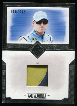 2014 Press Pass Total Memorabilia Single Swatch Silver #TMAA Aric Almirola Tire 118/275