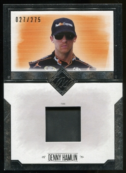2014 Press Pass Total Memorabilia Single Swatch Silver #TMDH Denny Hamlin Tire 27/275