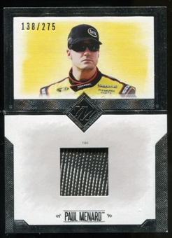 2014 Press Pass Total Memorabilia Single Swatch Silver #TMPM Paul Menard Tire 138/275