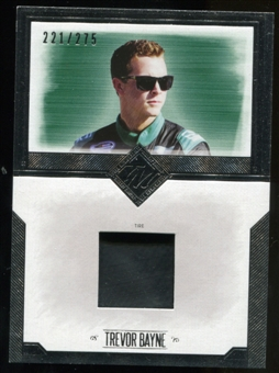 2014 Press Pass Total Memorabilia Single Swatch Silver #TMTB Trevor Bayne Tire 221/275