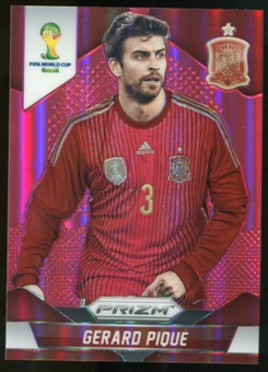 2014 Panini Prizm World Cup Prizms Red #171 Gerard Pique /149