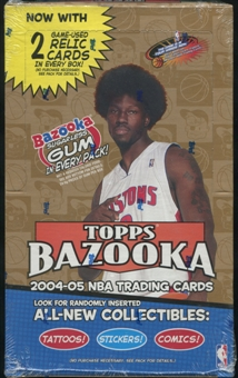 2004/05 Topps Bazooka Basketball Retail Box
