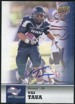 2011 Upper Deck Sweet Spot Autographs #4 Vai Taua RC