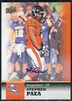 2011 Upper Deck Sweet Spot Autographs #15 Stephen Paea RC