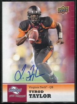 2011 Upper Deck Sweet Spot Autographs #25 Tyrod Taylor RC
