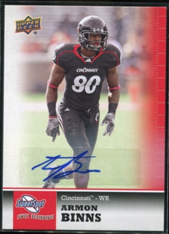 2011 Upper Deck Sweet Spot Autographs #37 Armon Binns RC