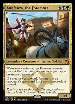 Magic the Gathering Khans of Tarkir Single Anafenza, the Foremost Foil NEAR MINT (NM)