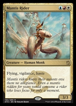 Magic the Gathering Khans of Tarkir Single Mantis Rider NEAR MINT (NM)