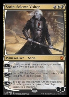 Magic the Gathering Khans of Tarkir Single Sorin, Solemn Visitor NEAR MINT (NM)
