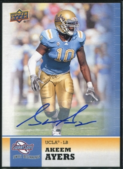 2011 Upper Deck Sweet Spot Autographs #23 Akeem Ayers RC