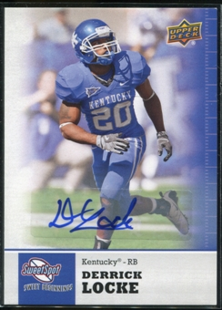 2011 Upper Deck Sweet Spot Autographs #83 Derrick Locke RC