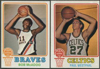 1973/74 Topps Basketball Complete Set (EX)