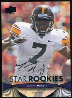 2012 Upper Deck Rookie Autographs #198 Marvin McNutt Autograph