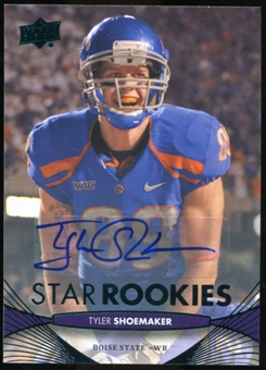 2012 Upper Deck Rookie Autographs #88 Tyler Shoemaker Autograph