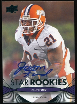 2012 Upper Deck Rookie Autographs #92 Jason Ford Autograph