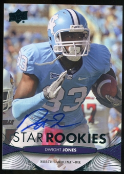 2012 Upper Deck Rookie Autographs #177 Dwight Jones Autograph