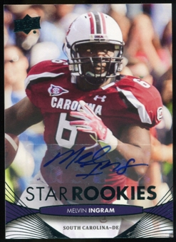 2012 Upper Deck Rookie Autographs #199 Melvin Ingram Autograph