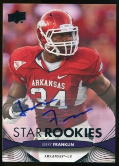 2012 Upper Deck Rookie Autographs #227 Jerry Franklin Autograph
