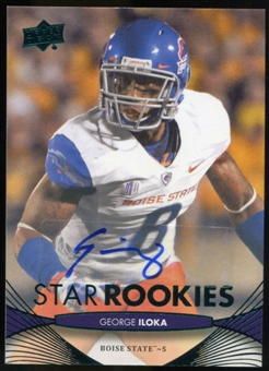 2012 Upper Deck Rookie Autographs #86 George Iloka Autograph
