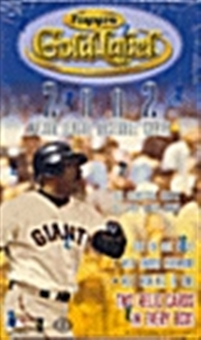 2002 Topps Gold Label Baseball Hobby Box