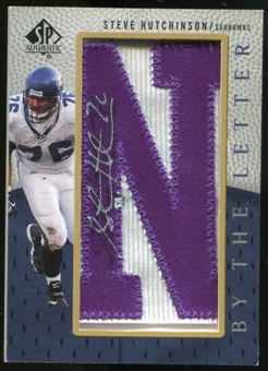 2007 Upper Deck SP Authentic By The Letter Autographs #BTLSH1 Steve Hutchinson Autograph /90