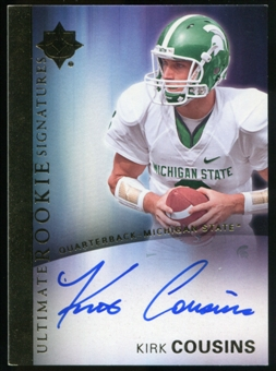 2012 Upper Deck Ultimate Collection Rookie Autographs #14 Kirk Cousins Autograph