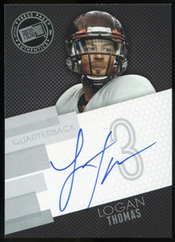 2014 Press Pass Autographs Silver #LT Logan Thomas Autograph