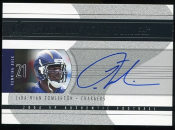 2004 Upper Deck SP Authentic Sign of the Times #SOTLT LaDainian Tomlinson* Autograph /50