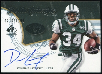 2008 Upper Deck SP Authentic #223 Dwight Lowery RC Autograph /1199
