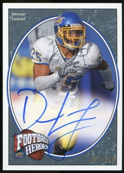 2008 Upper Deck Heroes Autographs Blue #140 Dwight Lowery Autograph /250