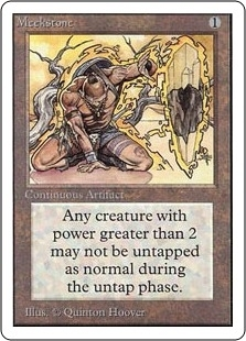 Magic the Gathering Unlimited Single Meekstone - MODERATE PLAY (MP)