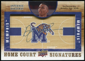 2011/12 Upper Deck SP Authentic Home Court Signatures #HCAH Anfernee Hardaway Autograph