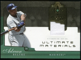 2005 Upper Deck Ultimate Collection Materials #AB Adrian Beltre Jersey /25