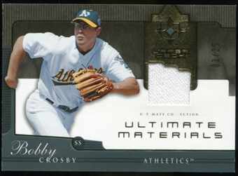 2005 Upper Deck Ultimate Collection Materials #BC Bobby Crosby Jersey /25