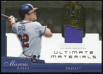 2005 Upper Deck Ultimate Collection Materials #BG Brian Giles Jersey /25