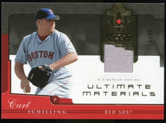 2005 Upper Deck Ultimate Collection Materials #CS Curt Schilling Jersey /25