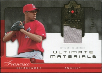 2005 Upper Deck Ultimate Collection Materials #FR Francisco Rodriguez Jersey 18/25