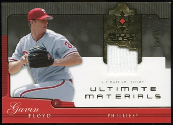 2005 Upper Deck Ultimate Collection Materials #GF Gavin Floyd Jersey /25