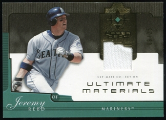 2005 Upper Deck Ultimate Collection Materials #JR Jeremy Reed Jersey /25