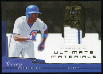 2005 Upper Deck Ultimate Collection Materials #PA Corey Patterson Jersey /25