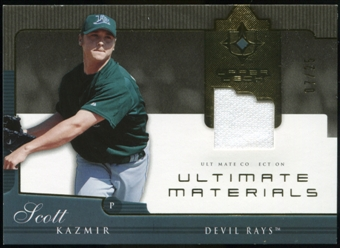 2005 Upper Deck Ultimate Collection Materials #SK Scott Kazmir Jersey /25