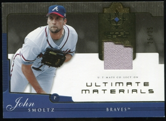 2005 Upper Deck Ultimate Collection Materials #SM John Smoltz Jersey /25