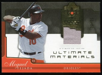 2005 Upper Deck Ultimate Collection Materials #TE Miguel Tejada Jersey /25