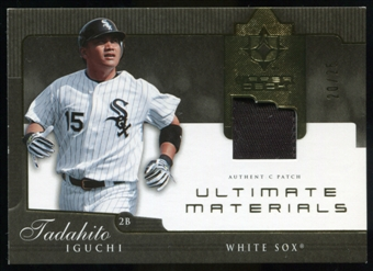 2005 Upper Deck Ultimate Collection Materials #TI Tadahito Iguchi Jersey /25