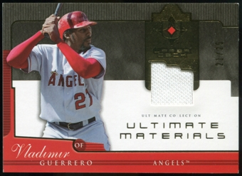 2005 Upper Deck Ultimate Collection Materials #VG Vladimir Guerrero Jersey /25